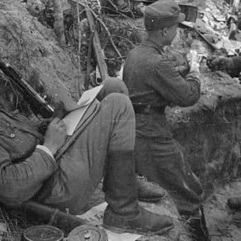 Sotilaiden äänet: Sotilaat kertovat: alikersantti Väinö Haapsaari JR58