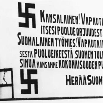 Katoaako fasismi kiistämällä?