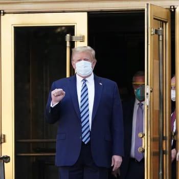 Korona-tartunta voi haitata Trumpin imagoa