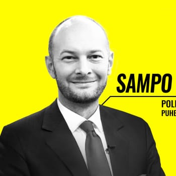 Eduskuntavaalit 2019 - vaalitentissä Sampo Terho (sin.)