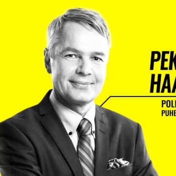 Eduskuntavaalit 2019 - vaalitentissä Pekka Haavisto (vihr.)