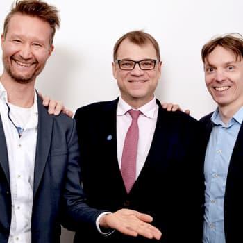 Politiikkaradio: Kuntavaalitentissä Juha Sipilä (kesk.): Soten aikatauluttaminen harkinnassa