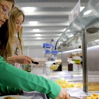 Lapset toivovat maukasta kouluruokaa