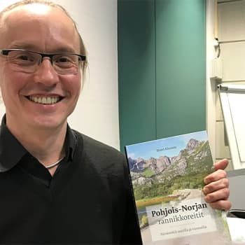Harri Ahonen on vaeltava tietokirjailija