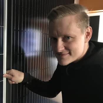 Sähkölaskun kasvu avittaa aurinkopaneelien menekkiä