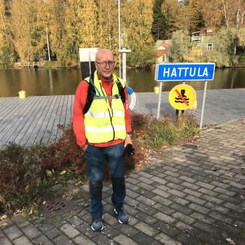 Miehen tie Jäämereltä Itämerelle kulki Kanta-Hämeen kautta