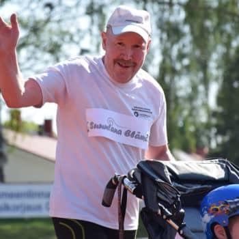 Radio Suomi Hämeenlinna: Jukka Stolt juoksee vammaisten lasten hyväksi