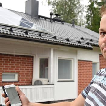 Radio Suomi Hämeenlinna: Sähkön siirtohintakorotukset ja vihreät arvot pelaavat aurinkoenergian pussiin