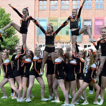 Radio Suomi Hämeenlinna: Cheerleading on nyt nosteessa