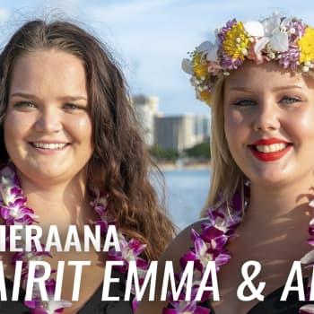 """Au pairit Havaijilla -sarjan Emma ja Annika vieraana: """"Mä en tullu tänne tappaa sikoja, vaan hoitaa lapsia"""""""