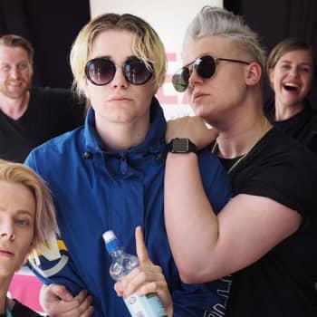 YleXPop 2017: Lucas, Alex Mattson ja Arttu Lindeman: Jos meillä olisi poikabändi niin sen nimi olisi Backstreet Dawgs