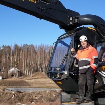 Metsäkoneyrittäjillä menee heikosti Etelä-Savossa
