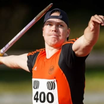 Tino Mäkelä on uusi 80 metrin keihäsmies