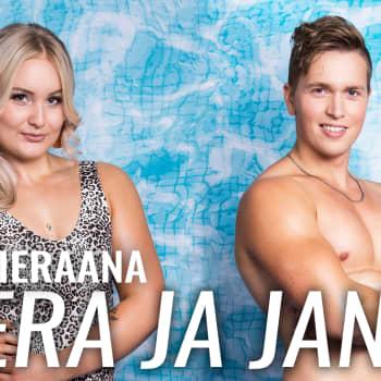 Love Islandin Veera ja Janne vieraana: Saa nähdä jatkuvatko ystävyyssuhteet kun ei ole enää puhuttavaa Love Islandista