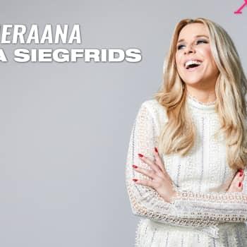 """Krista Siegfrids vieraana: """"Mä elän ja hengitän UMK:ta ja Euroviisuja läpi vuoden"""""""