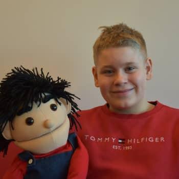 Suomen Talentin yksi karsimaattisimmista kilpailijoista on vasta 12-vuotias vatsastapuhuja Rasmus Koskinen