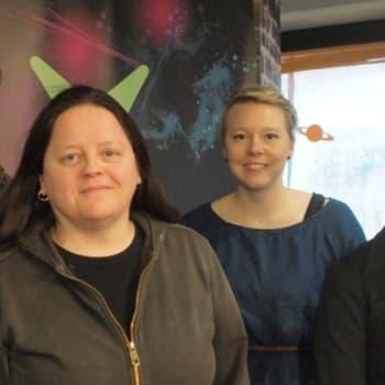Prostituutio Suomessa - projektipäällikkö Tanja Auvinen Exit ry:stä sekä Pro-tukipiste ry:n toiminnanjohtaja Jaana Kauppinen