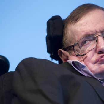 Stephen Hawkingista tuli oman aikamme tieteen ikoni