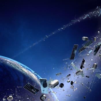 Avaruusromua on liikaa - törmäykset uhkaavat toimivia satelliitteja ja tulevaisuuden avaruusmatkailua