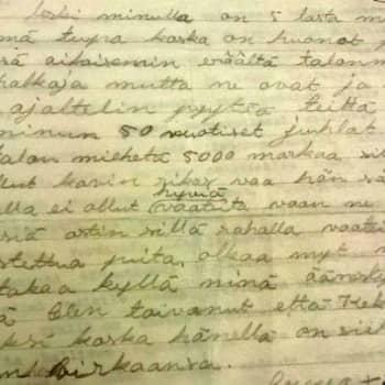 Kansalaiset pommittivat Kekkosta kirjeillä