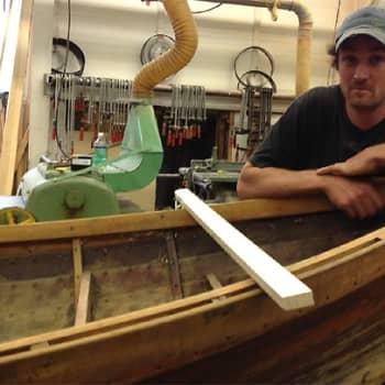 Puheen Iltapäivä: Kesävesillä: Puuveneveistäjälle veneet ovat elämäntapa
