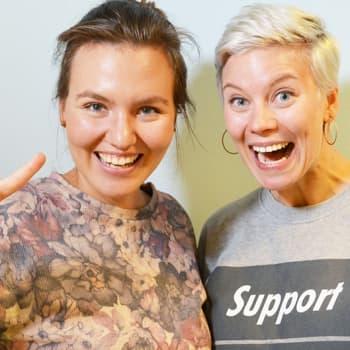 """Puheen Iltapäivä: Prisma Studion uusi juontaja Reetta Rönkä:""""Itsensä ja ympäristön ymmärtäminen on vain hyvä asia"""""""