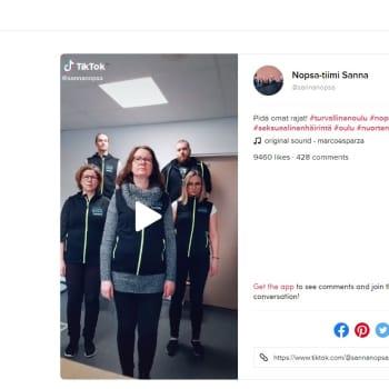 Turvallinen Oulu -hankkeen somevideota pilkataan Yhdysvalloissa asti - työntekijät ovat joutuneet maalittamisen kohteeksi