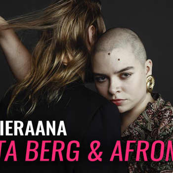 Merita Berg ja Afromikko vieraina: Lorvija ja sammumaton kone tekevät sen itse