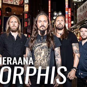 Amorphis vieraana: Ylenpalttinen nöyryys leimaa bändin toimintaa