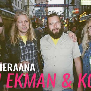 Joni Ekman & Koira vieraana: Uuden albumin ennakkoesittely!