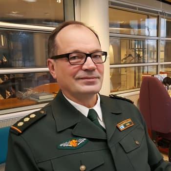Kaakkois-Suomen rajavartiosto tekee tiivistä yhteistyötä Venäjän virkaveljien kanssa - komentaja Ismo Kurki jää eläkkeelle luottavaisin mielin