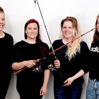 Nosto: Kun kalastus on naisen intohimo