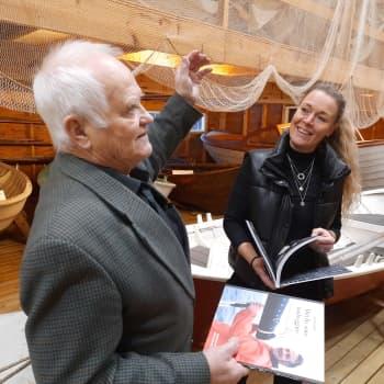 """Jan-Erik Nyfelt berättar sin historia i boken """"Mitt liv som båtbyggare"""""""
