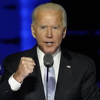 Missä vaiheessa on Joe Bidenin hallinnon rakentaminen?