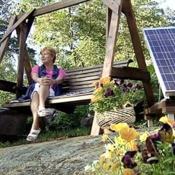 Ajankohtainen Ykkönen: Aurinkoenergiantuottajaksi muutamalla satasella