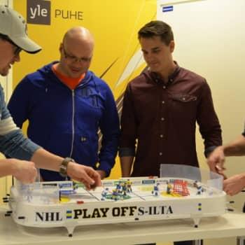 Urheiluilta: NHL-ilta - kiivasta keskustelua runkosarjasta ja tulevista pudotuspeleistä