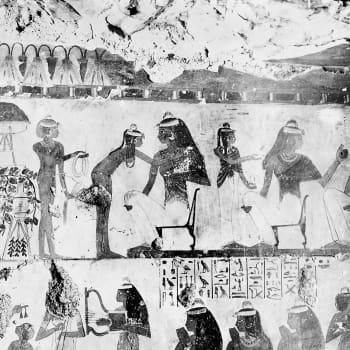 Vad torkade sig de gamla egyptierna med där bak?