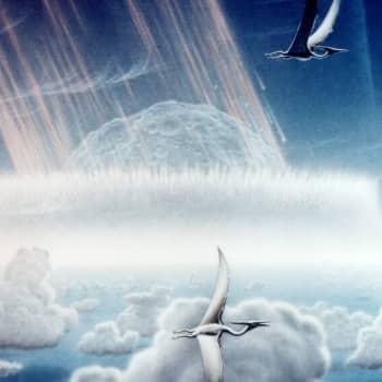 Dagen då himlen föll ned över dinosaurierna