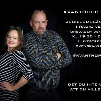 Kvanthopp: PODCAST De stora teleskopen i Paranal / Lära finska åt flyktingar