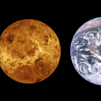 Venus, helvetesplaneten / Är universum oändligt?