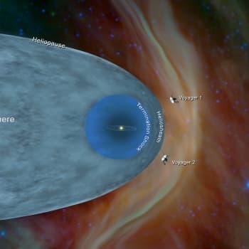 Voyager 2 lämnade solsystemet / Studera kreativitet på universitet