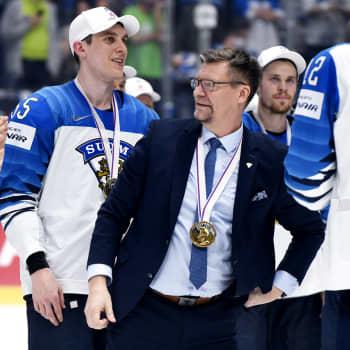 Leijonien päävalmentaja Jukka Jalonen kertoo, mitä voittamiseen vaaditaan