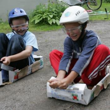 Lasten liikunta aktivoi sekä kehoa että aivoja