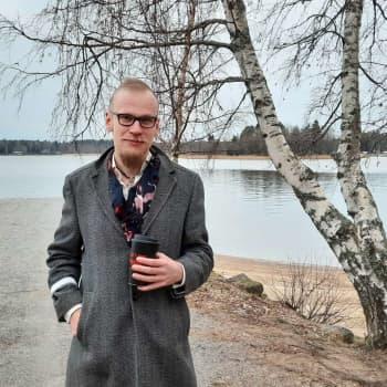 Andliga sökaren Fredrik Westblom är en modern häxa