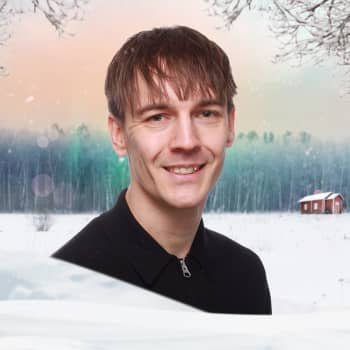 Vegas vinterpratare: Artisten Kevin Holmström