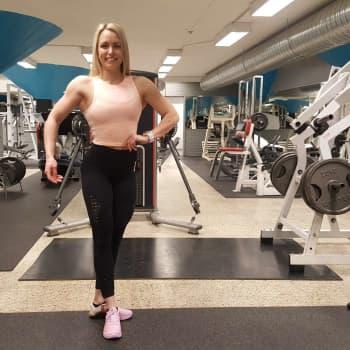 """Body fitnessin maailmanmestari Mira Hotti - """"Tämä on elämäntapa, en ole joutunut luopumaan mistään"""""""