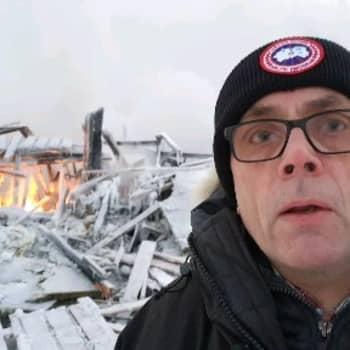 """Jouni Palosaari Levin tulipalon jälkeen - """"Tuhkasta noustaan"""""""