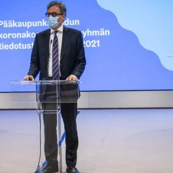 Corona-bestämmelser och rekommendationer fortsätter i Helsingforsregionen januari ut