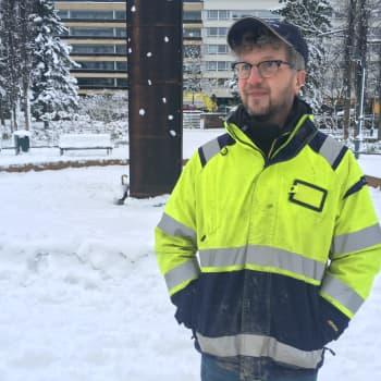 Kotkan kaupungin uusi kaupunginpuutarhuri Marko Pesu aloitti työnsä vuoden vaihteessa