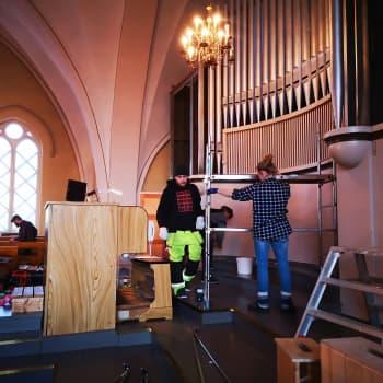 Kemin kirkon harvinaiset 85-vuotiaat urut peruskorjataan